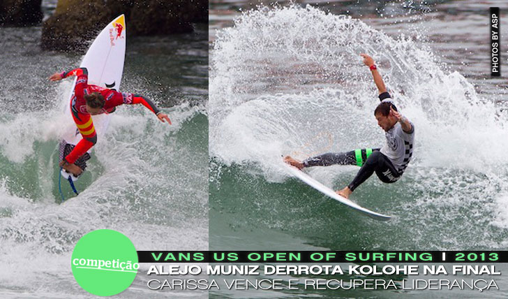 11617Alejo e Carissa Vence VANS US Open of Surfing