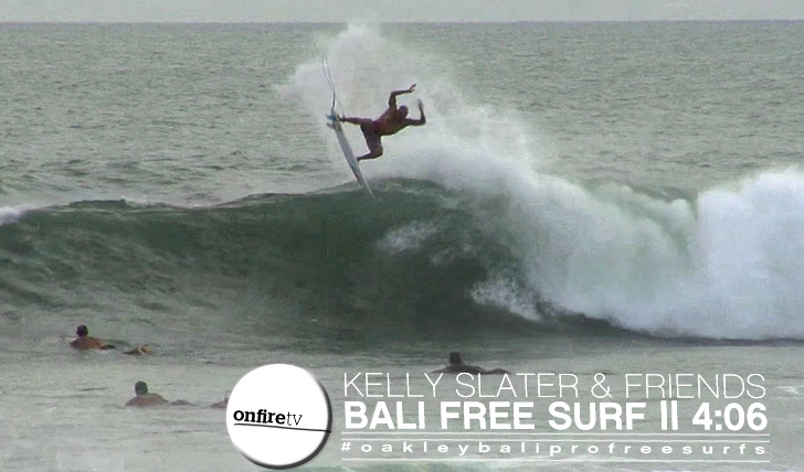 11482Kelly Slater em Bali | Free Surf || 4:06