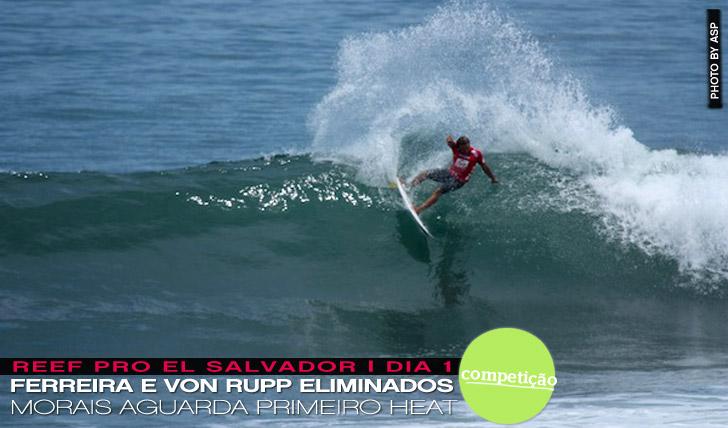 11302Zé Ferreira e Nicolau Von Rupp eliminados no Reef Pro El Salvador | Dia 1