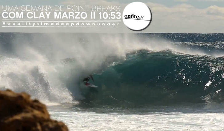 11555Uma semana de point breaks | Clay Marzo | Down Under || 10:53