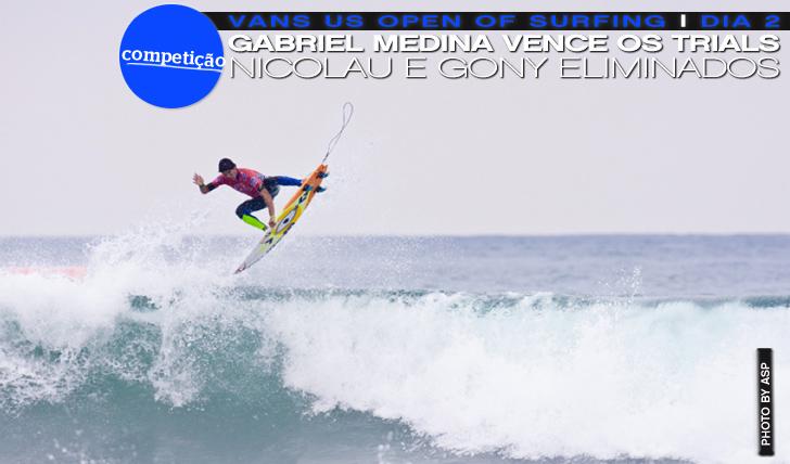 11490Medina vence os trials | Nicolau e Gony eliminados | Vans US Open of Surfing | Dia 2