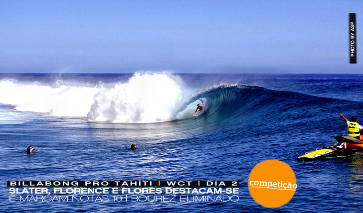 12182Slater, Florence & Flores em destaque no Billabong Pro Tahiti | Dia 2