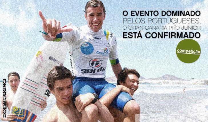 11898O evento dominado pelos juniores portugueses está confirmado | Gran Canaria Pro Jr