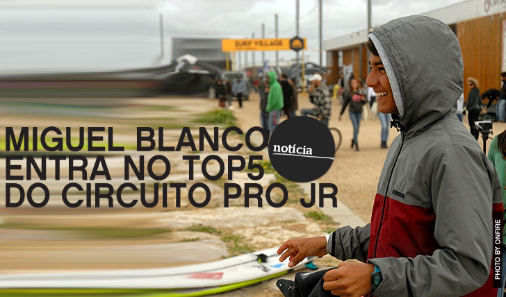 11835Miguel Blanco entra no top5 do Pro Junior