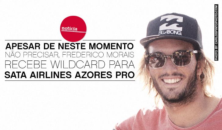 12249Apesar de neste momento não precisar, Morais é wildcard no SATA Airlines Azores Pro