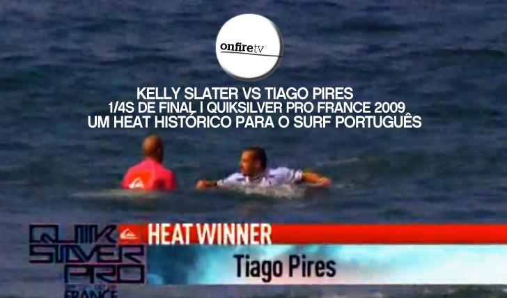 11929Saca VS Slater | Quiksilver Pro France 2009 | Um heat histórico para o surf português