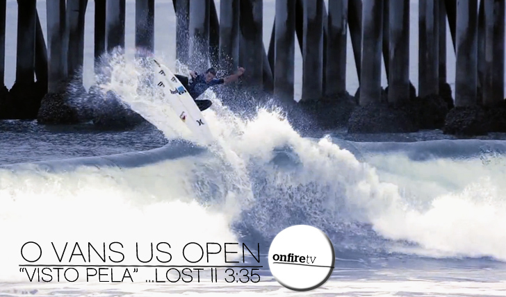 "12316O US Open of Surfing ""visto"" pela …Lost 