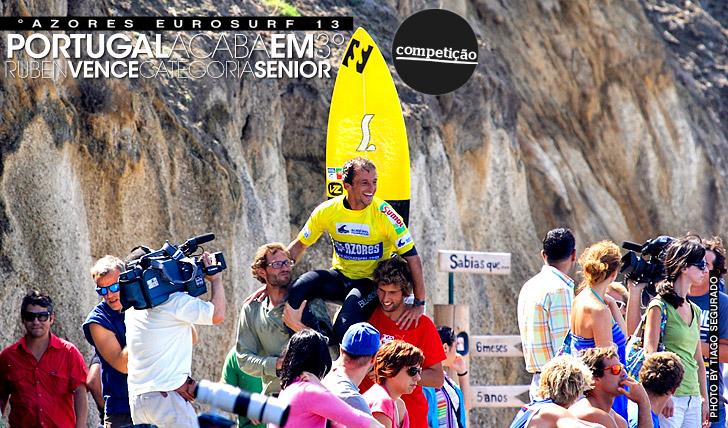 13080Portugal termina em 3º no Azores Eurosurf 13