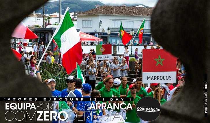 12971Zero derrotas para os portugueses no primeiro dia do Azores EuroSurf 13