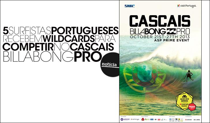 137355 portugueses recebem wildcards para o Cascais Billabong Pro