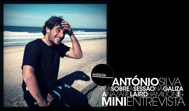 14083António Silva fala sobre a sessão na Galiza, a Nazaré, Laird Hamilton e + | Mini-Entrevista