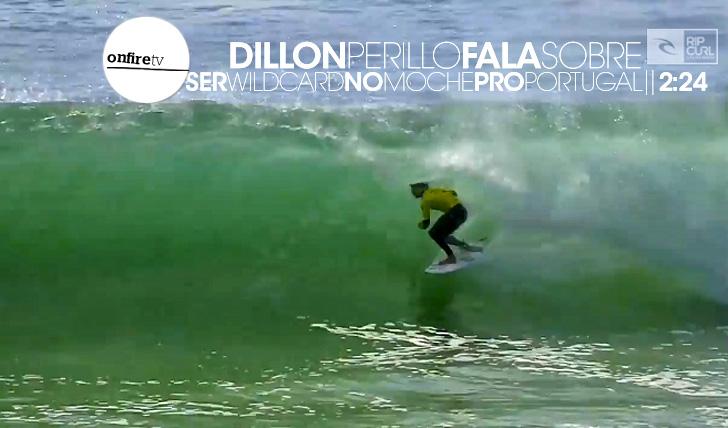 13199Dillon Perillo fala sobre ser wildcard no Moche Pro Portugal || 1:50