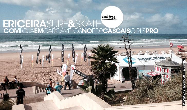 13234ESS com loja na praia no EDP Cascais Girls Pro
