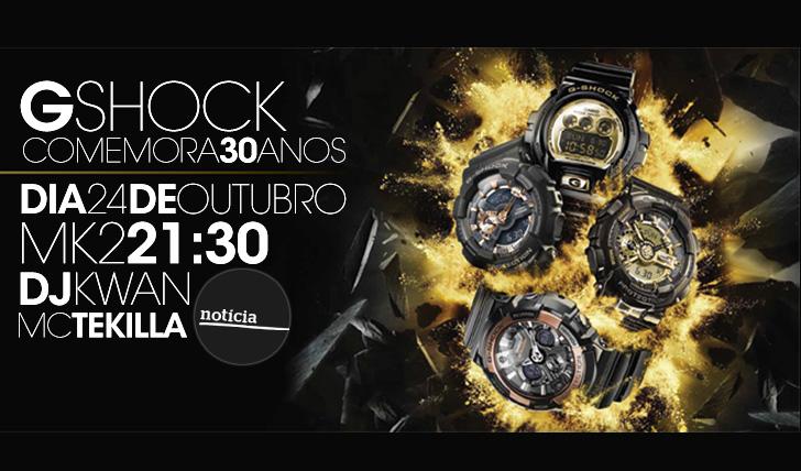 13949G-Shock comemora 30 anos com festa no Bairro Alto | 24 de Outubro | 21:30