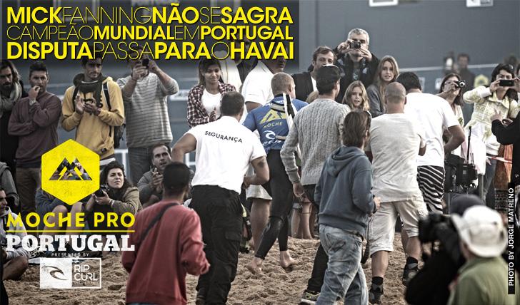 13777Fanning não garante o título mundial em Portugal