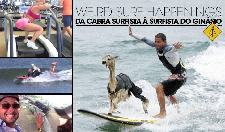 13974Weird Surf Happenings 02 | Da cabra surfista à surfista do ginásio
