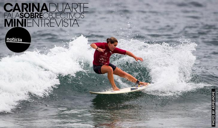 14342Carina Duarte fala sobre objectivos | Mini-Entrevista