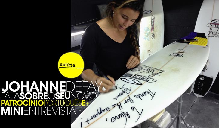 14398Johanne Defay fala sobre o seu novo patrocínio português | Mini-Entrevista