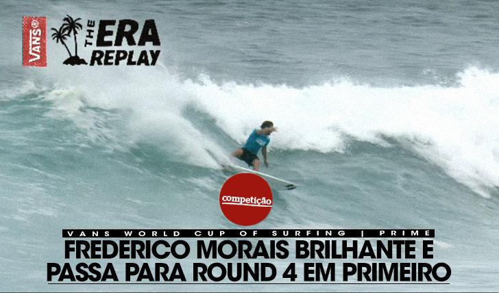 14627Frederico Morais brilhante e passa para round 4 em primeiro!