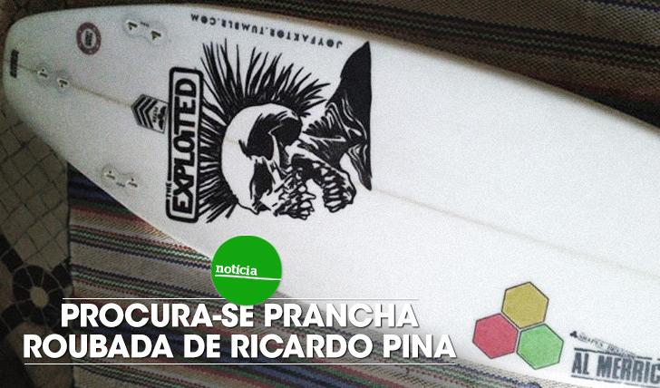 14365Procura-se prancha roubada de Ricardo Pina