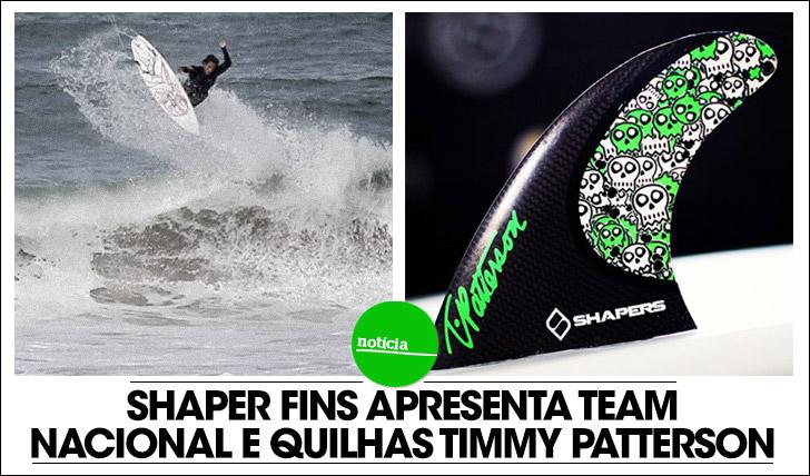 14322Shapers Fins apresenta team nacional e modelo Timmy Patterson