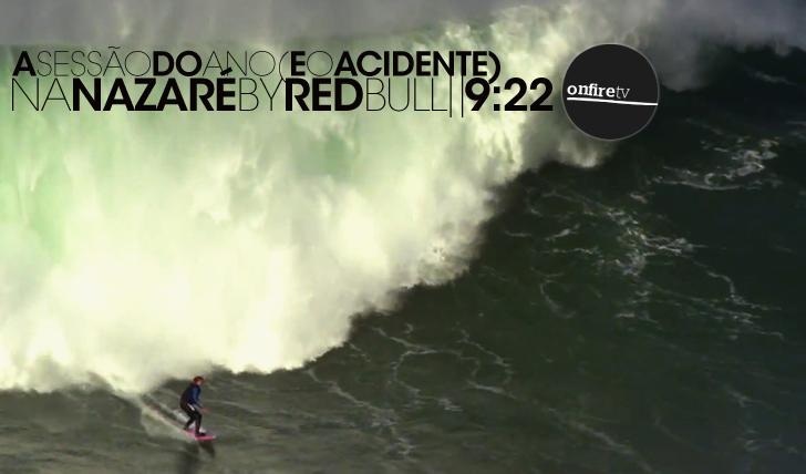 14339A sessão e o acidente na Nazaré | By RedBull || 9:22