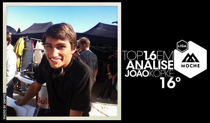 14386Liga Moche | Top16 em Análise | João Kopke – 16º
