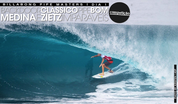 14811Backdoor perfeito no Billabong Pipe Masters | Dia 1