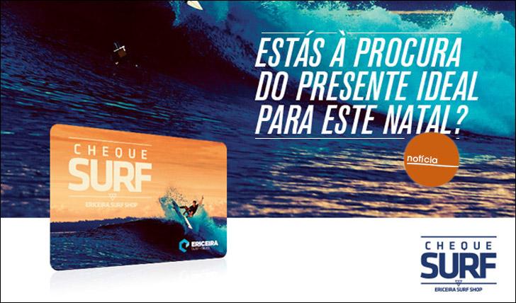 14915E que tal ofereceres um cheque Surf online este Natal?