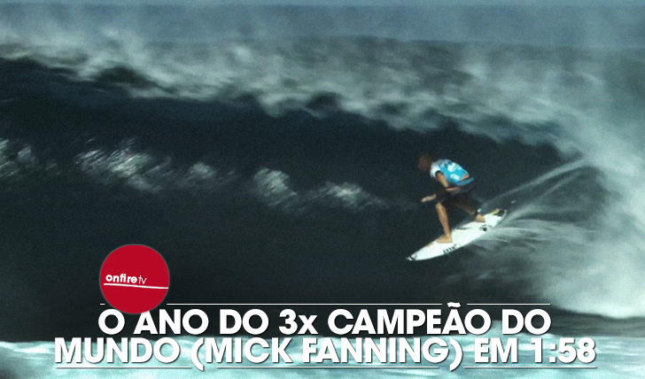 14979O ano do 3x campeão do mundo (Mick Fanning) em 1:58