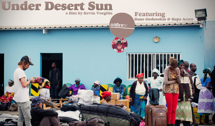 14694Under Desert Sun | Angola com KEPA ACERO || 19:35