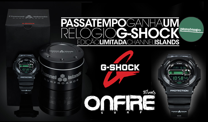 14848Passatempo G-SHOCK | ONFIRE – Ganha um relógio edição limitada