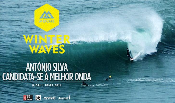 """15396António Silva candidata-se à """"Melhor Onda"""" do MOCHE Winter Waves"""