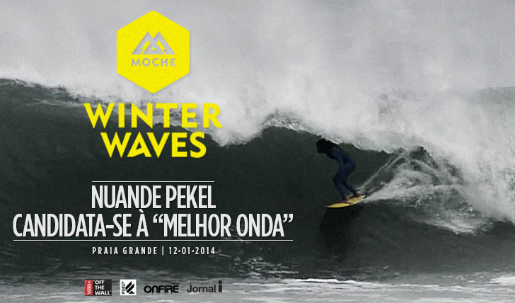 "15562Nuande Pekel candidata-se à ""Melhor Onda"" do MOCHE Winter Waves"