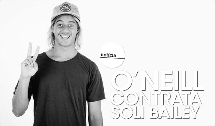 """15538O'Neill contrata """"bombinha"""" aussie Soli Bailey"""