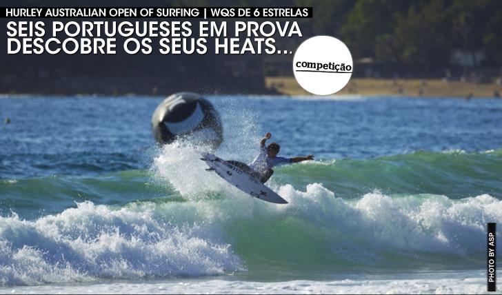159006 portugueses em prova no Australian Open | Descobre os seus heats…