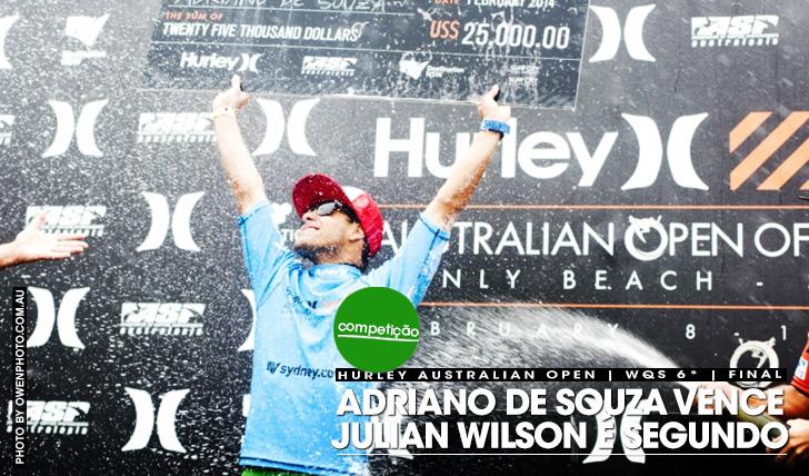 16063Adriano de Souza vence Hurley Australian Open of Surfing