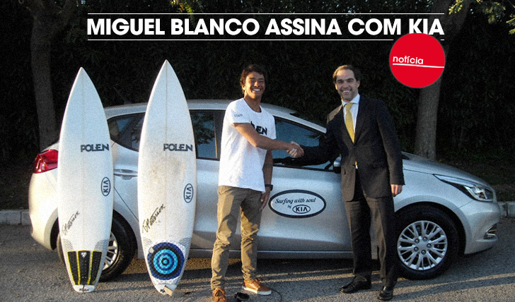 16477Miguel Blanco assina com KIA Motors