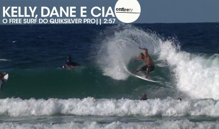 16388Slater, Dane e cia | Free surf durante o Quiksilver Pro || 2:57