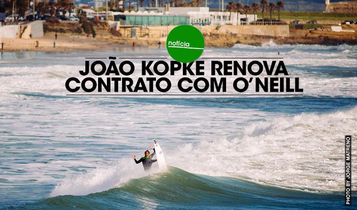 16481João Kopke renova contrato com O'Neill