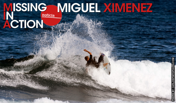 16402Missing in Action | Miguel Ximenez