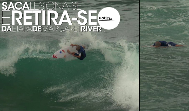 16812Saca lesiona-se e retira-se do Drug Aware Margaret River Pro