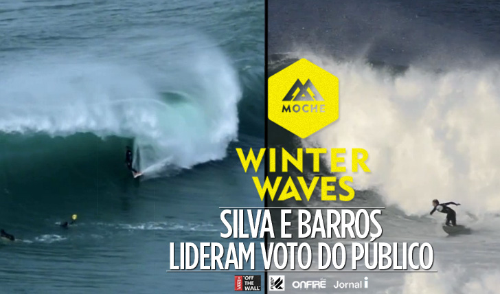 16530Silva e Barros lideram o voto do público no MOCHE Winter Waves