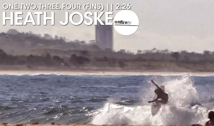 17409Heath Joske | One, two, three, four (fins) || 2:26
