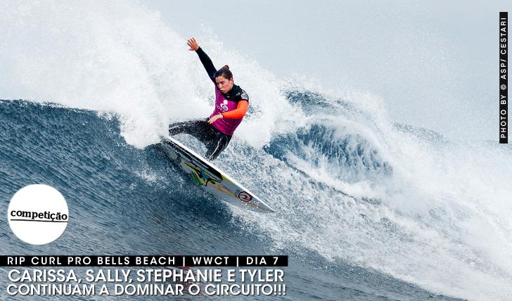 17354Carissa, Sally, Stephanie e Tyler nas meias finais | Rip Curl Pro Bells Beach
