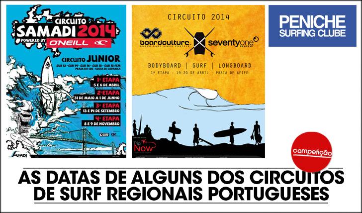 16944As datas de alguns circuitos de surf regionais portugueses!