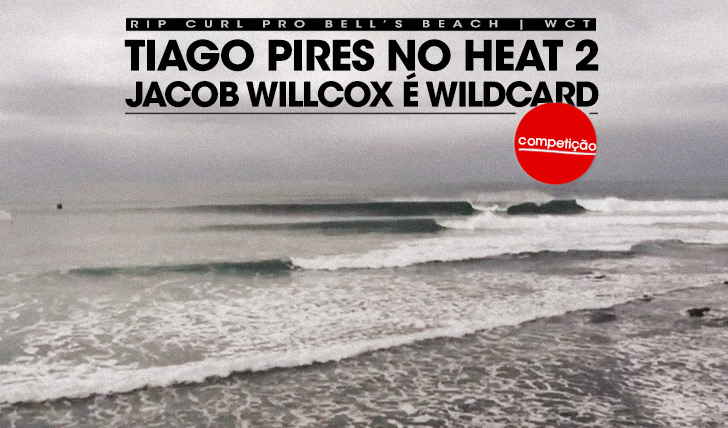 17161Tiago Pires no round 1 do Rip Curl Pro Bells e Willcox é wildcard