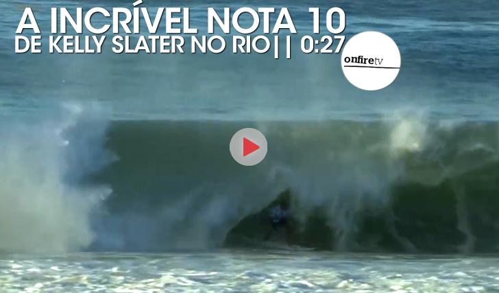 17892A incrível nota 10 de Kelly Slater no Rio || 0:27