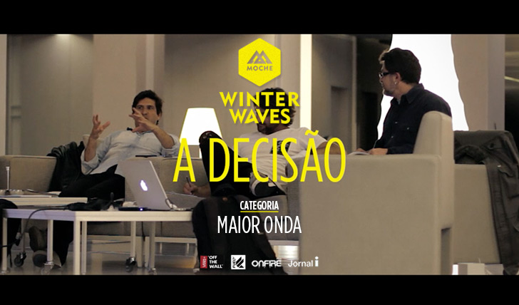 "18027E o vencedor do MOCHE Winter Waves na ""Maior Onda"" é…"
