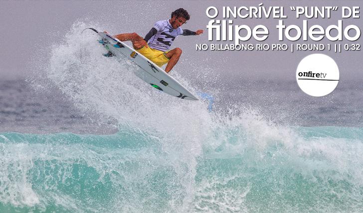 "17768O incrível ""punt"" de Filipe Toledo || 0:32"